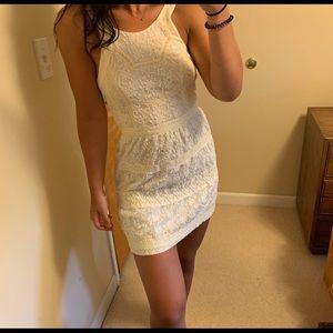 RARE American Eagle Lace Mini Dress White Size 2